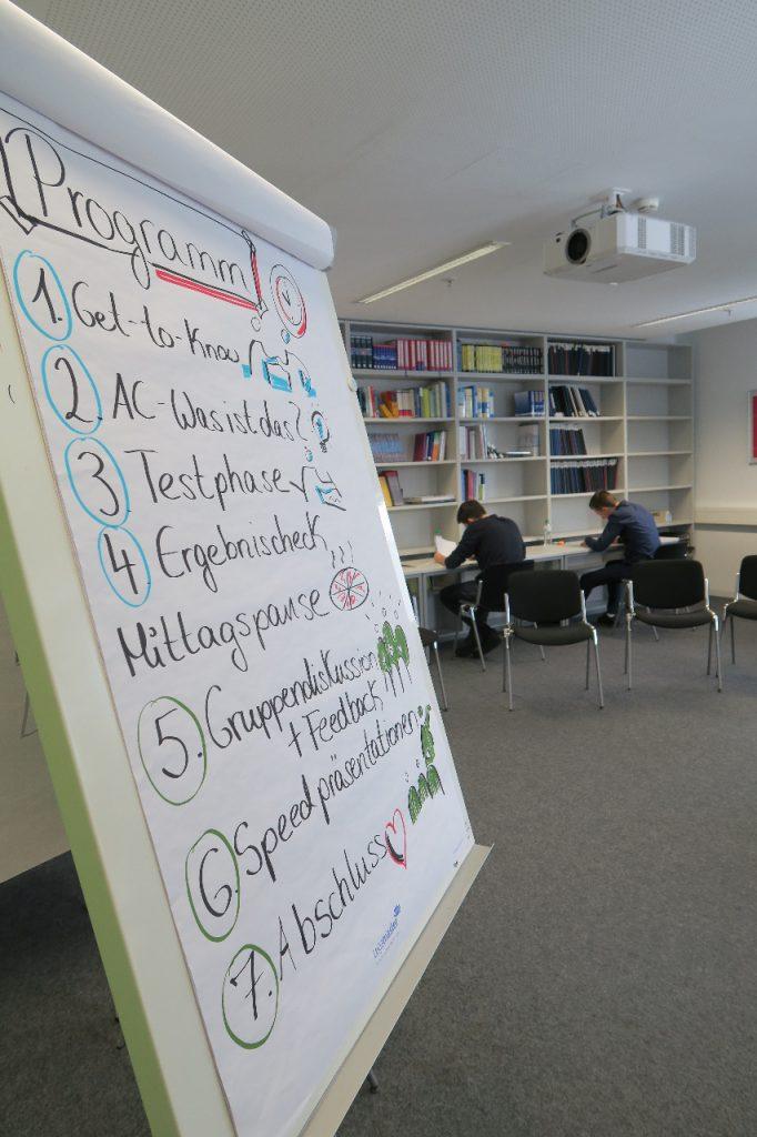 Assessment Center Training für Talente an der Uni Köln