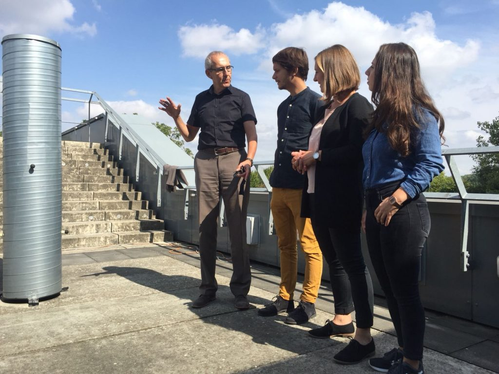 Talentscouts am Science College Overbach – MINT liegt in der Luft