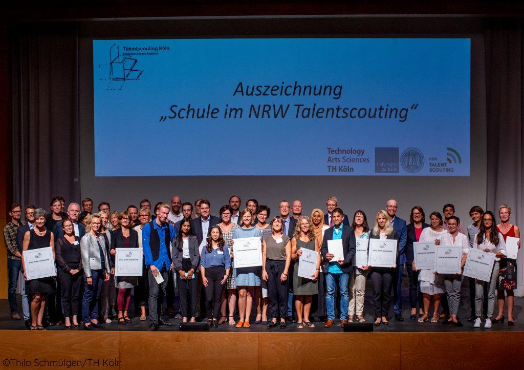 Talentscouting Köln zeichnet 20 Schulen aus